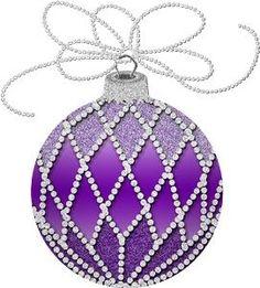 Purple Christmas Ornaments, Christmas Clipart, Christmas Bells, A Christmas Story, Christmas Wishes, Christmas Colors, Christmas Themes, Christmas Decorations, Purple Love