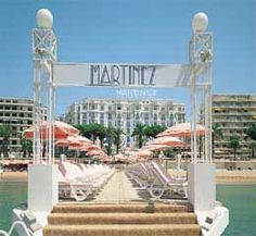Hotel Martinez, Cannes.  Hubby and I spent a night in this historic and beautiful hotel.