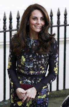Kate Middleton Photos Photos - Catherine, Duchess Of Cambridge arrives for a briefing to announce plans for Heads Together ahead of the 2017 Virgin Money London Marathon at ICA on January 17, 2017 in London, England. Heads Together, Charity of the Year 2017, is led by The Duke
