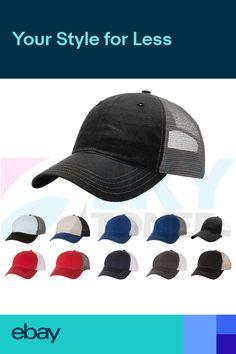 78f7ae03eed1f New! Richardson Garment Washed Trucker Ball Cap Snapback Mesh Back Hat 111