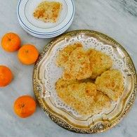 Tangerine Scones with Yogurt. These take 20 minutes to make and bake from start to finish. Their aroma alone makes them irresistible and their flavor is even better.