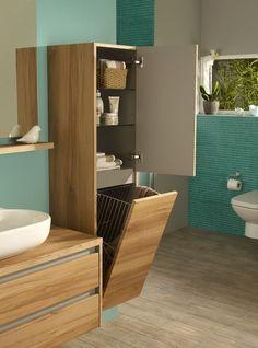 I really love this awesome photo Laundry Room Design, Bathroom Design Small, Bathroom Interior Design, Modern Bathroom, Bathroom Bench, Bathroom Cupboards, Bathroom Furniture, Bad Bank, Big Bathrooms