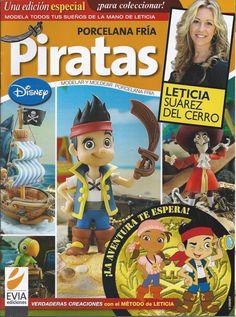 Cold Porcelain Special Edition PIRATES (2013) PIRATAS by Leticia Suarez del Cerro (Spanish) Porcelana fria, Biscuit, Air Dry Clay