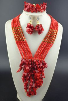Coral jewelry - Pesquisa Google