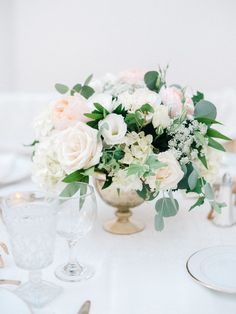 low centerpiece inspiration...