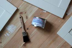 Så målar du om köksluckor