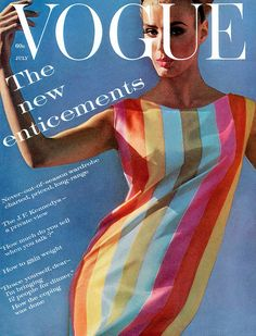 Deborah Dixon, Vogue July 1961 #60s