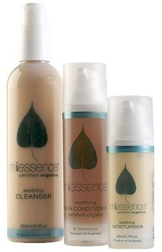 Miessence Soothing Skin Essentials Pack. $111.85