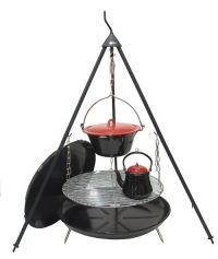 Bon-Fire Outdoor Kitchen - Complete Cooking Set | Pots, kettles, tripods & fire pits | Wild Stoves