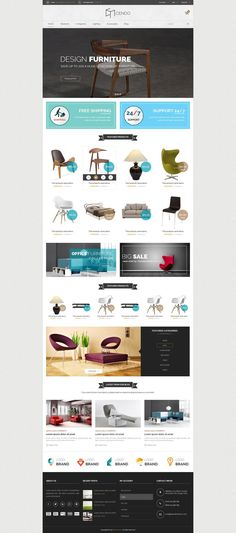 Cendo is a Furniture Responsive Magento Template with advanced admin module. It's extremely easy to install and config and full responsive. Interface of this Sign Up Page, Vintage Typography, Typography Design, Mega Menu, Social Icons, 404 Page, Custom Banners, Ecommerce, Something To Do