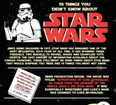 19 Things You Didn't Know About Star Wars: http://zapmylife.ca/19-things-you-didnt-know-about-star-wars/