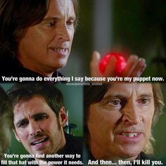 I HATE YOU RUMPLE!!! DON'T MESS WITH CAPTAIN SWAN!!!!!