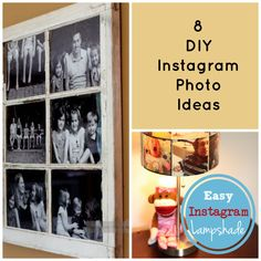 8 DIY Instagram Photo Ideas