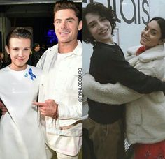 Millie Bobby Brown and Zac Efron and Finn Wolfhard and Vanessa Hudgens