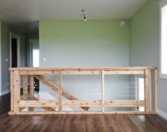 Owner Building a Home: The Momplex | Stainless Steel Cable and Wood Railing good for the cabin deck redo?