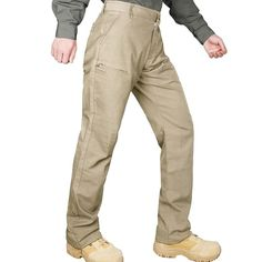 Hardland Men's Tactical Cargo Pants Tactical Cargo Pants, Water Lighting, Work Pants, Khaki Pants, Stretch Fabric, Black And Brown, Knots, Stitches, Scale