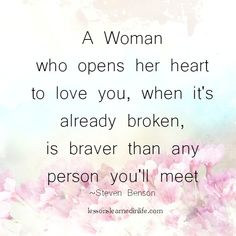 Lessons Learned in Life | A woman who opens her heart.