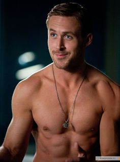 Ryan Gosling, one Ryan (my other half) and I agree on....mmmm...;)