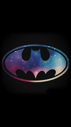 Starry Night Batman Symbol