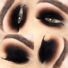 Tutorial – 5 tipos de olhos preto
