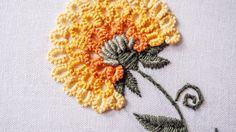 Hand Embroidery Patterns by HandiWorks: Flowers and florals are popular embroidery motifs and are available in a range of styles from classic to contemporary...