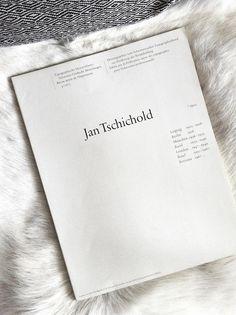 Editorial / Jan Tschichold http://designspiration.net/image/689793528251/