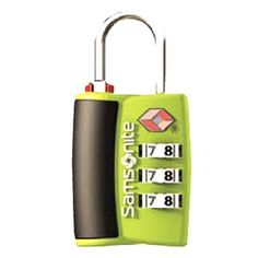 Samsonite Luggage 3 Dial Travel Sentry Combo Lock Neon Green One Size ** To view further for this item, visit the image link. Note:It is Affiliate Link to Amazon.