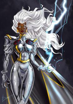 Storm Comic, Storm Xmen, Storm Marvel, Marvel Women, Marvel Girls, Comics Girls, Marvel Comics Art, Marvel Heroes, Marvel Characters