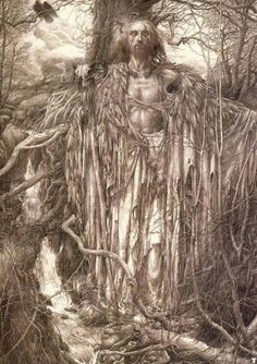Alan Lee is best known for his thorough illustrative work of JRR Tolkien's books and mythology.