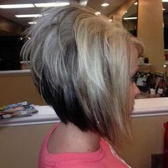 Looking for stunning inverted bob hairstyles to change things up? Find a full photo gallery of inverted bob hairstyles to get some ideas. Short Stacked Haircuts, Inverted Bob Hairstyles, 2015 Hairstyles, Short Hairstyles For Women, Short Hair Cuts, Trendy Haircuts, Hairstyles Pictures, Short Stacked Bobs, Haircut Pictures