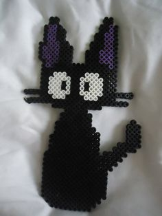 Jiji from Kiki's Delivery Service perler beads by TsukiHimeChii on deviantART