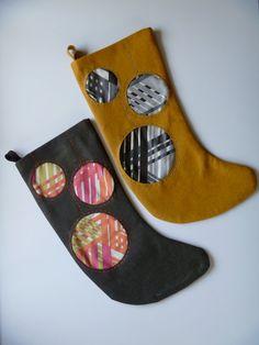 retro christmas stockings.