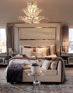 Gorgeous 20+ Elegant Master Bedroom Decorating Ideas  Https://homegardenr.com/