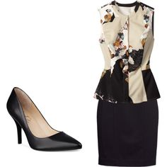 """Work Flow"" by yasi-hellogorgeous on Polyvore"