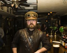 Steampunk Captain by JF Sebastian, via Flickr