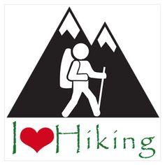 I love hiking!