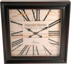 Artikeldetails:  Dekorative Uhr, In antikem Look, Maße (B/T/H): 60/8/60 cm,  Material/Qualität:  Aus Metall,  Wissenswertes:  Für den Betrieb benötigen Sie eine AA-Betterie. Diese ist nicht im Lieferumfang enthalten.,  ...