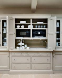 New kitchen pantry doors appliance garage ideas Kitchen Larder, Kitchen Storage, Kitchen Cabinets, Kitchen Appliances, Kitchen Sink, Larder Cupboard, Upper Cabinets, Kitchen And Bath, New Kitchen