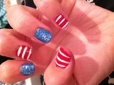 Forth of July nails!