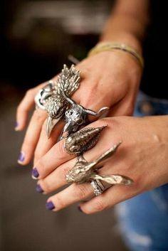 animal rings ❤️
