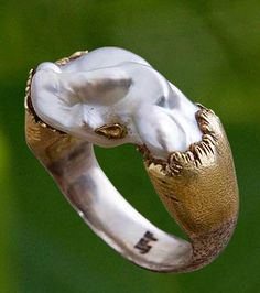 Jean Francois Fichot pearl ring