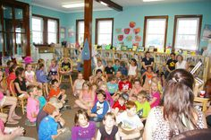 Perth-Andover Library. 50+ children. They loved it!!!
