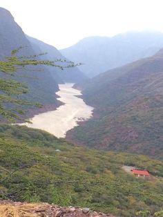 Cañòn del Rio Sogamoso Zapatoca Santander Colombia