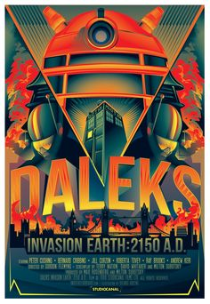 Superbe hommage aux pires ennemis du Doctor Who par Orlando Arocena ! Great tribute to Doctor Who's archenemies by Orlando Arocena ! Dr Who, Cultura Pop, Illuminati, Art Doctor Who, Doctor Who Poster, Diy Doctor, Doctor Who Dalek, Eleventh Doctor, Ghibli