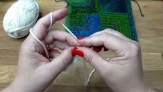 Modulové pletení čtverce 1. - škola pletení