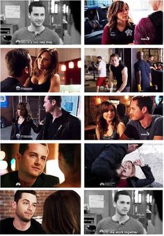"""""""It's not like that. We work together."""" - Halstead"""
