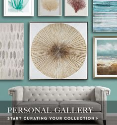 Curate a personal gallery to add your own unique personality to your space.