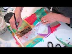 Postcards Making Tutorial video from Jane Davies