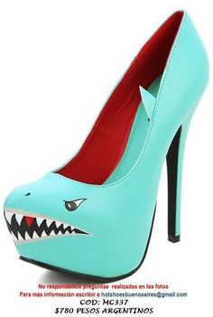 Perfect shoes to wear when you're having a bad day and want to kick someone's @**!