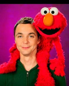 Jim Parsons & Elmo